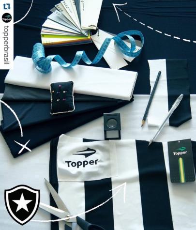4cfb059d57 Topper divulga parte do novo uniforme que será lançado em maio
