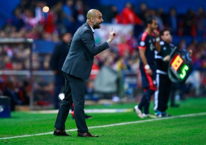 Pep Guardiola - Atletico de Madrid x Bayern de Munique
