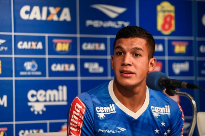 Romero diz que se sente em casa com a camisa do Cruzeiro  2336c4f623bbb