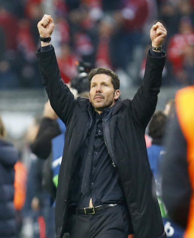 Simeone - Bayern de Munique x Atletico de Madrid