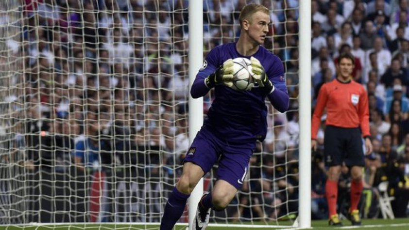 Hart - Real Madrid x Manchester City