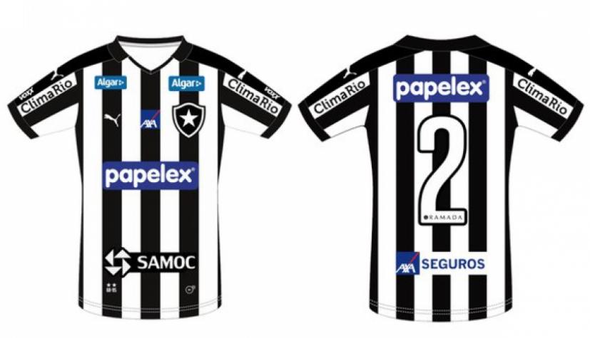 Botafogo acerta patrocínio para a final e mostra como ficará a ... 7d67fcb379b86