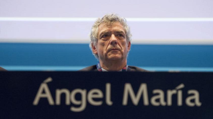 Ángel María Villar apresenta a demissão dos cargos na UEFA