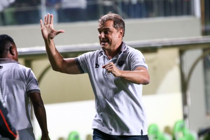 Diego Aguirre, técnico do Atlético-MG (Foto: Bruno Cantini/Divulgação/Atlético-MG)