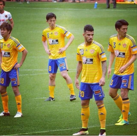 Atacante Ramon Lopes, do Vegalta Sendai