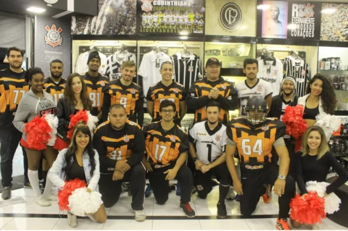 Equipe do Corinthians Steamrollers (Foto: LANCE!)