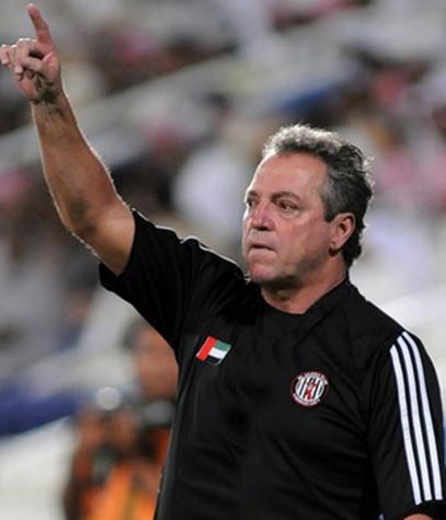 Abel Braga - técnico do Al Jazira