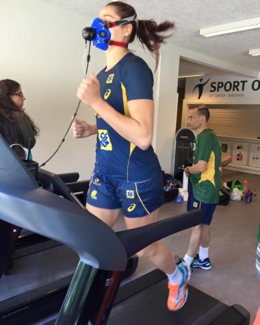 8afbd56e6c Seleção Brasileira Feminina passa por treinos antes da Rio 2016