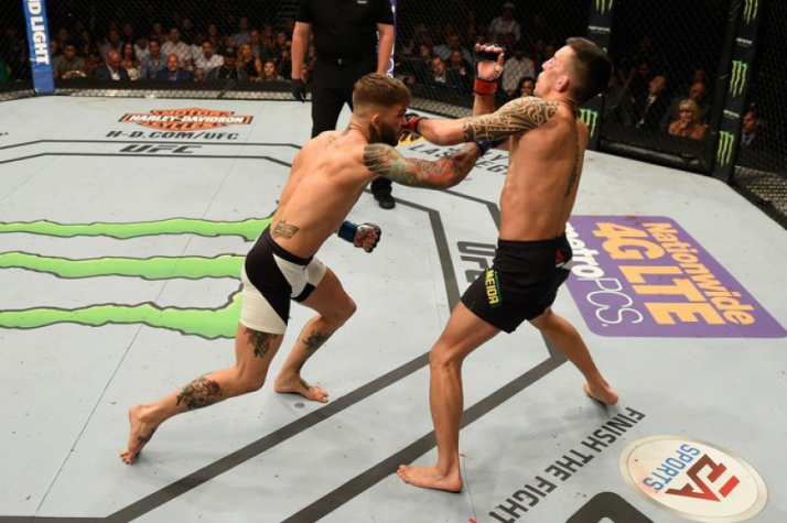 Cody Garbrandt nocauteou Thomas Almeida no UFC Fight Night