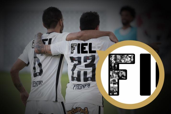 5b15542261 Arte divulgada pelo Corinthians simulando uniforme do próximo domingo  (Foto  Divulgação)