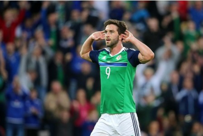 Will Grigg, atacante da Irlanda do Norte