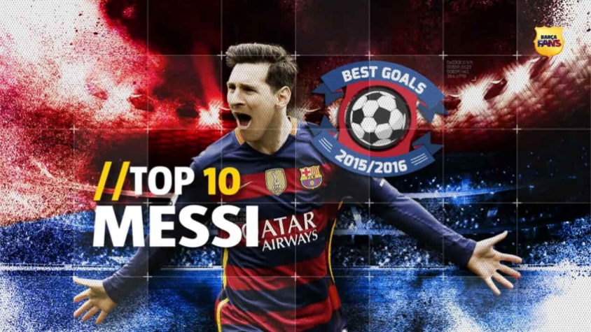Top 10 gols de Messi da temporada 2015/2016