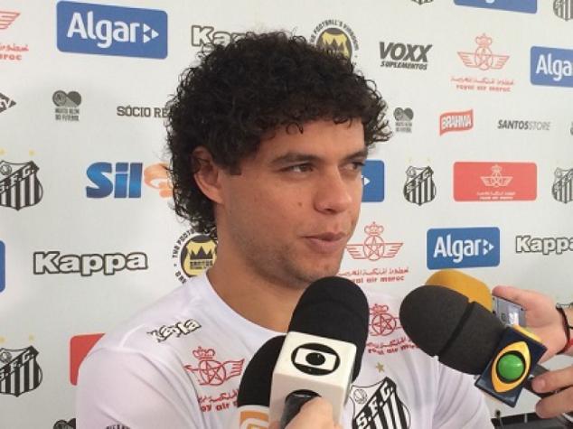 Victor Ferraz concedeu entrevista coletiva nesta quinta-feira (Foto: Russel Dias)