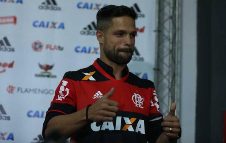 Apresentação de Diego Ribas no Flamengo