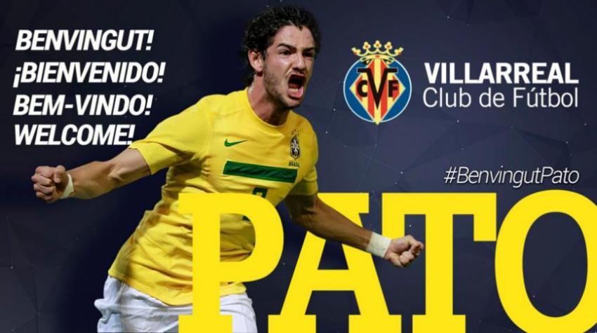 Chegou! Pato realiza exames e � anunciado como jogador do Villarreal