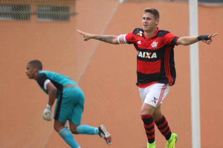 No primeiro jogo da decisão, Flamengo de Matheus Sávio saiu na frente (Gilvan de Souza / Flamengo)
