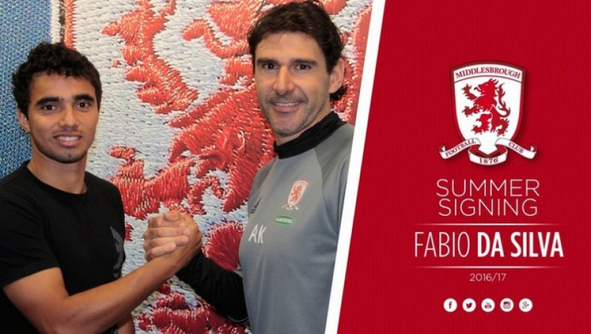 Fábio e Karanka - Middlesbrough