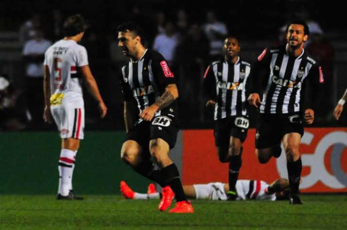Pratto e Fred no Galo