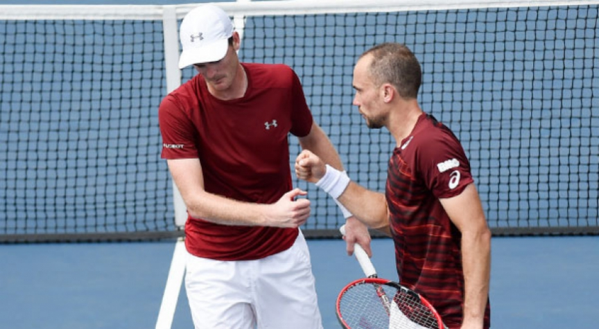 Bruno Soares e Jamie Murray no US Open