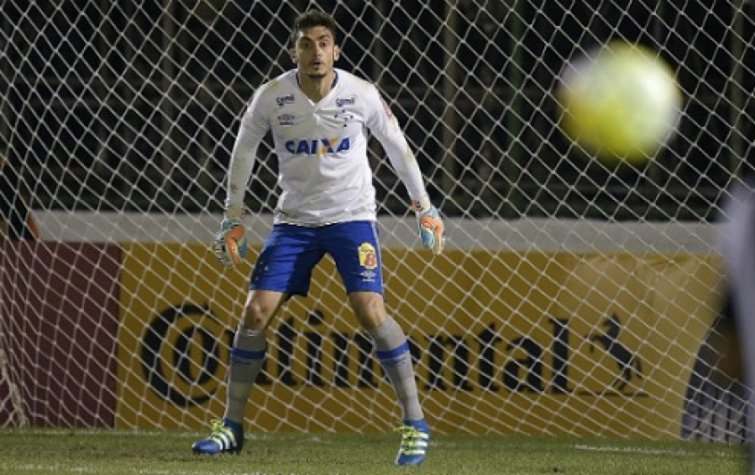 Rafael, goleiro do Cruzeiro (Foto: Alexandre Loureiro/Light Press)