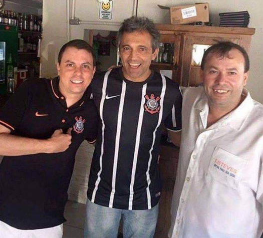 DOMINGOS MONTAGNER camisa do Corinthians