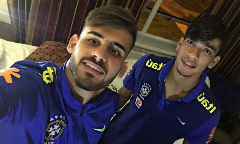 Vizeu e Paquetá pela Seleção Brasileira (Divulgação)