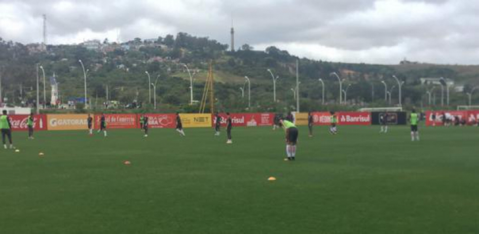 Treino do Internacional