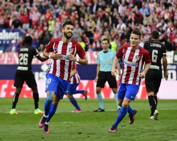 Carrasco - Atlético de Madrid x Granada