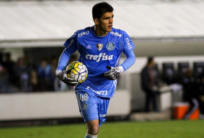 Palmeiras confirma a contração do goleiro Weverton