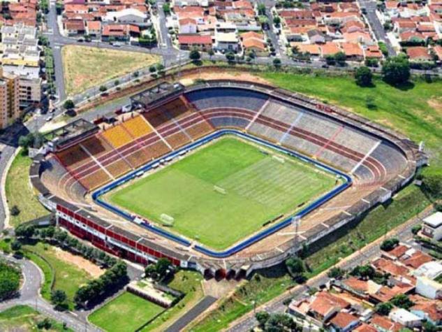 O Estádio Benedito Teixeira, em São José do Rio Preto (SP). Crédito: Divulgação / Lance