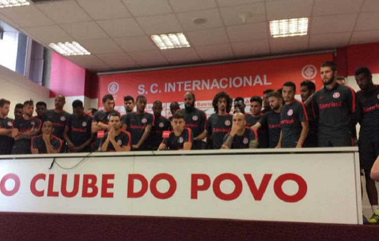 Coletiva do Internacional