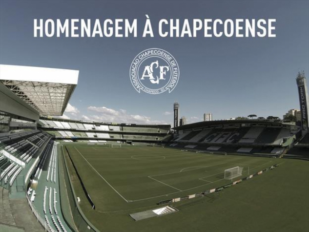 Coritiba divulga detalhes de tributo à Chapecoense no Couto Pereira ... 46fd75582dc1b