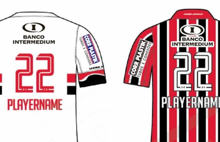 Mais grana! São Paulo anuncia novo patrocinador para costas da ... 39c750987b21d