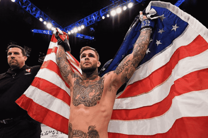 Cody Garbrandt é o novo campeão da categoria dos galos do UFC
