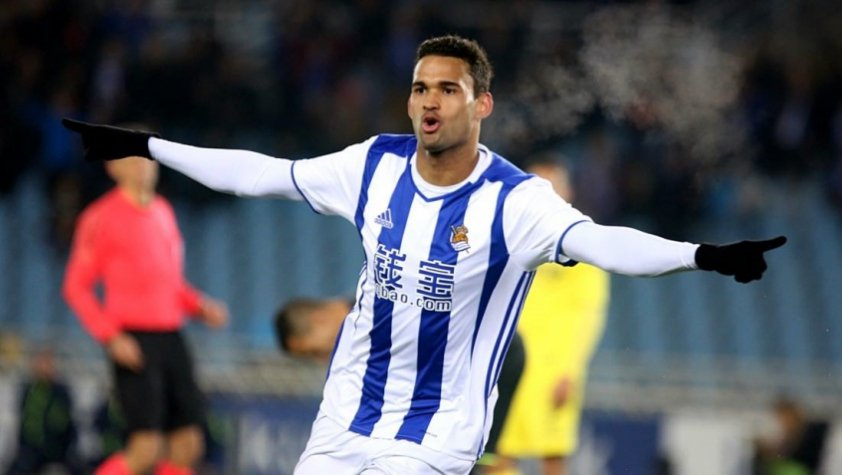 Willian José - Real Sociedad x Villarreal