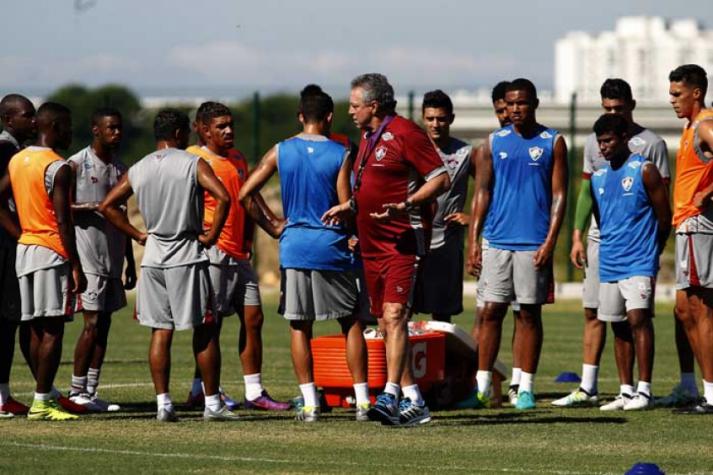 Pré-temporada do Fluminense no CT Pedro Antonio. Flu divulga numeração ... 5499c29dd2de0