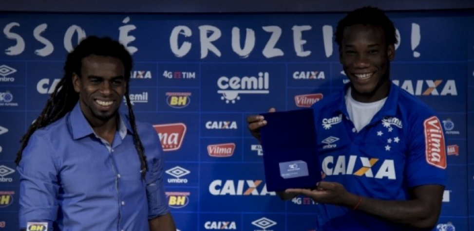 Luis Caicedo, zagueiro do Cruzeiro (Foto: Washington Alves/Light Press/Cruzeiro)