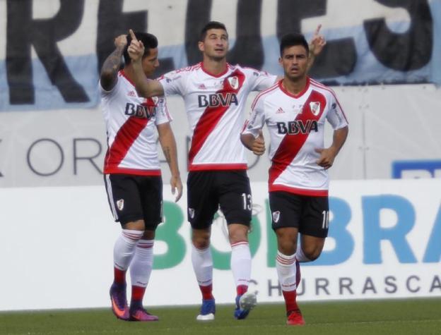 Alario marca no início, River passa e será rival da estreia de Rogério Ceni