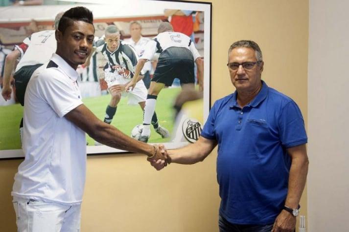 Santos divulga nova numeração sem camisa 11 e com Bruno Henrique ... 175ad5782cc80