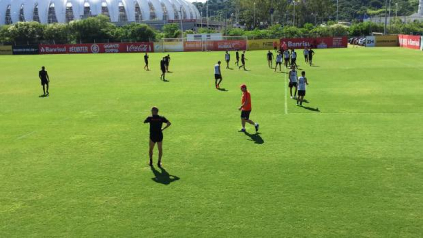Treino do Inter