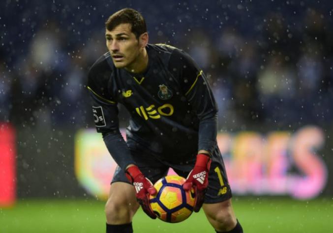 Casillas sofre infarto mas passa bem. Crédito: Divulgação / Lance