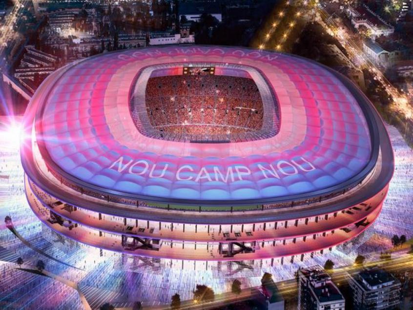 Camp Nou, estádio do Barcelona, pode mudar de nome