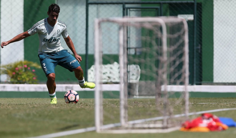 Palmeiras faz treino fechado para encarar o Peñarol na Libertadore