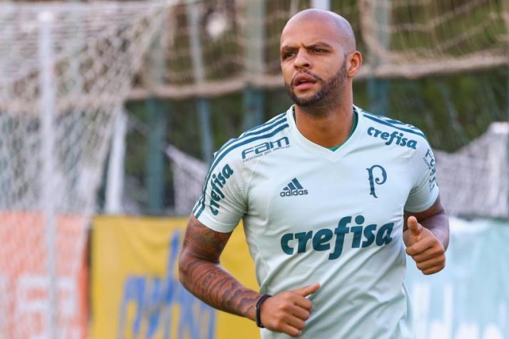 Felipe Melo e trio do Peñarol tomam suspensão preventiva de 3 jogos - Palmeiras