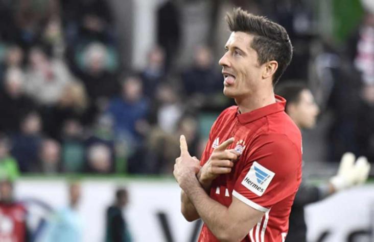 Lewandowski culpa técnico e companheiros do Bayern por falta de artilharia