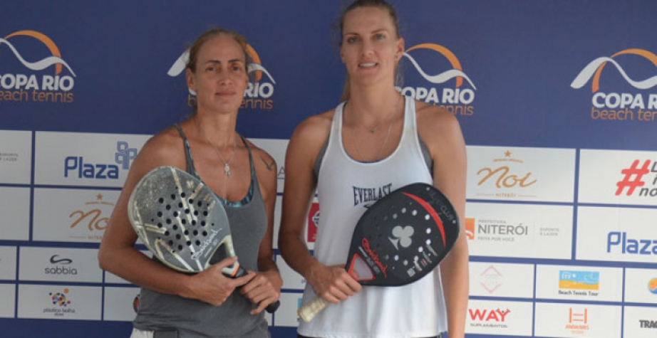 8227de2c27d Campeã Olímpica e Bronze nos Jogos disputam a Copa Rio Beach Tennis ...