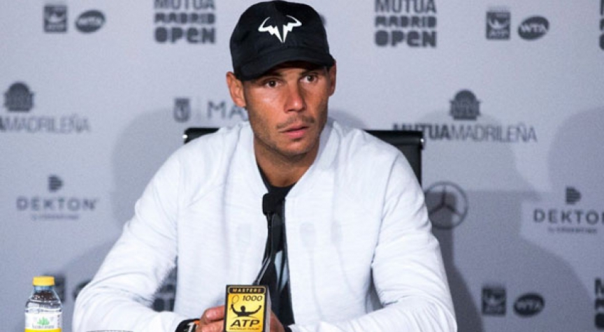 Rafael Nadal afastado nos 'quartos' do Masters 1.000 de Roma por Thiem