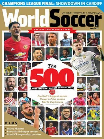 df5d0857b World Soccer divulgou a lista dos 500 melhores  Palmeiras é o brasileiro  com mais representantes