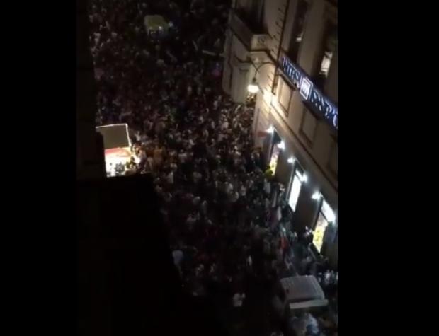 Concentração da torcida da Juventus em Turim tem pânico e pessoas feridas
