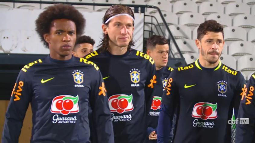 Seleção Brasileira faz primeiro treino na Austrália para amistosos ... 92b3e36aa62a6
